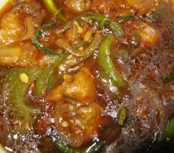 Spicy chilli mushroom